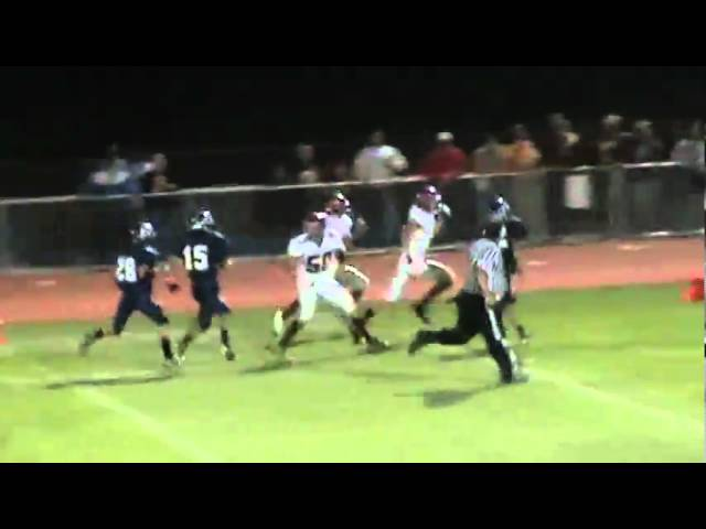 10-1-10 - This TD run by Joe Rosenbrock goes for 77 yards (Brush 19, P. Valley 8)
