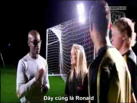 Thử thách giới hạn của Ronaldo P4 Ghi bàn trong bóng tối phim ve