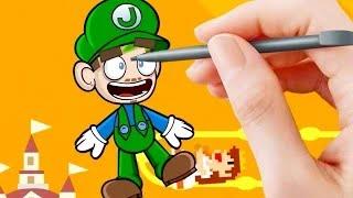 Jacksepticeye Animated | Super Mario Maker | Backwards