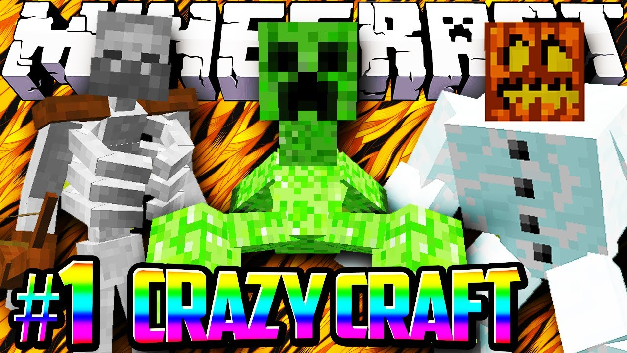 Crazy Craft Minecraft Big Bertha