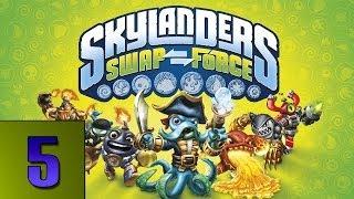Skylanders Swap Force Gameplay: Mudwater Hollow Part 5