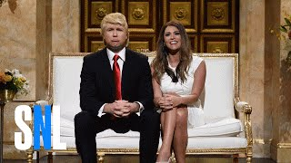 SNL:  Melania Trump Exposes Husband Donald
