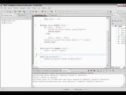 Java- Melhorando a classe Conta - Criando um menu interativo com um while e um switch case