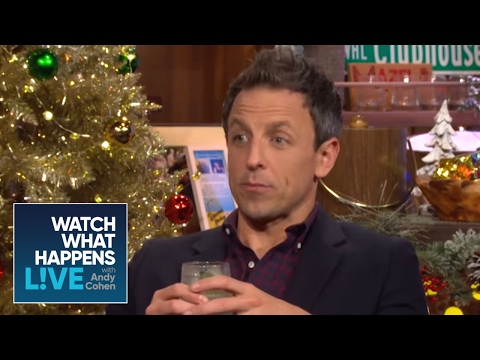 Seth Meyers Debates Tina Fey, Amy Poehler, And The Kardashians  | WWHL