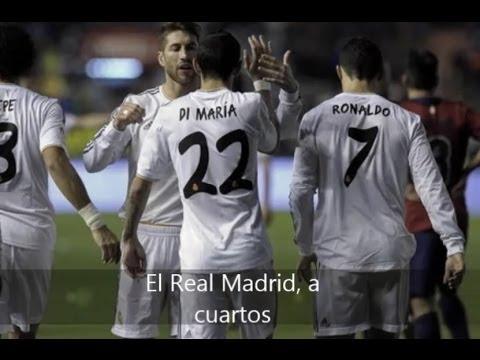 Real Madrid gana a Osasuna y se planta en cuartos de la Copa del Rey