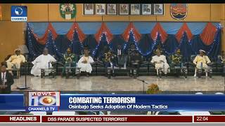 Osinbajo Seeks Adoption Of Modern Tactics In Combatting Terrorism 23/06/17 Pt.1