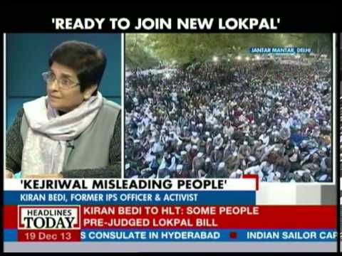 I am not here to talks about Kejriwal: Kiran Bedi