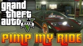 GTA V Pimp My Ride #2 Infernus (Lambo) Car