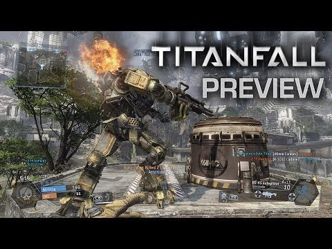 news: Robotic Death From the Sky - Titanfall Preview
