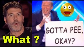 Top 10 *SUPER FUNNY Comedians* of ALL THE TIMES on America & Britain Got Talent!