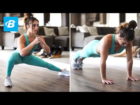 4 At-Home Workouts to Build Muscle | Team C4