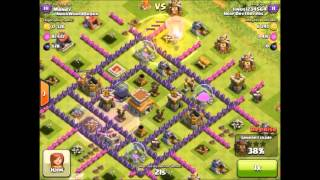 Clash Of Clans TH8 Anti Everything Base