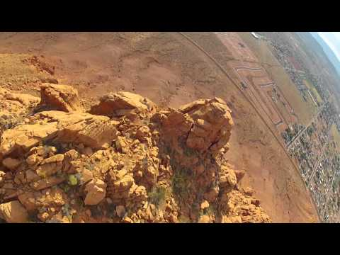 FPV HD In the beautiful Utah Desert, Incredible cliff flying and beautiful Scenery