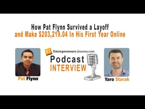How Pat Flynn Survived a Layoff Then Build a Six Figure Online Business in 12 Months Video