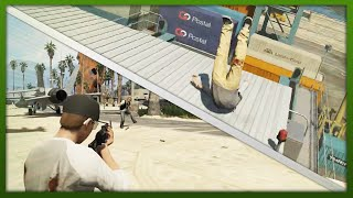 GTA 5: Funny Moments Compilation! Stunts, Fails & More! (GTA V Online Stunts)