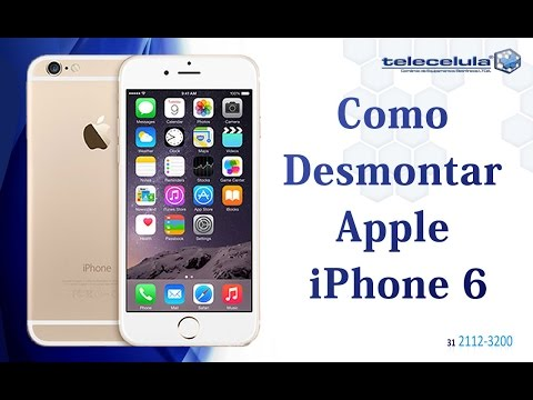 Desmontagem iPhone 6 , Apple ,  Disassembly iphone 6 - TELECELULA