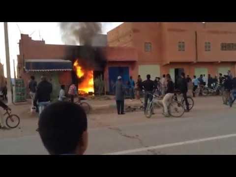 تنجداد: اندلاع النيران بدكان بسيدي يحيى