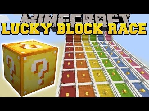 [Lucky Block Mod] [Race] [1.8] Đường đua tử thần !