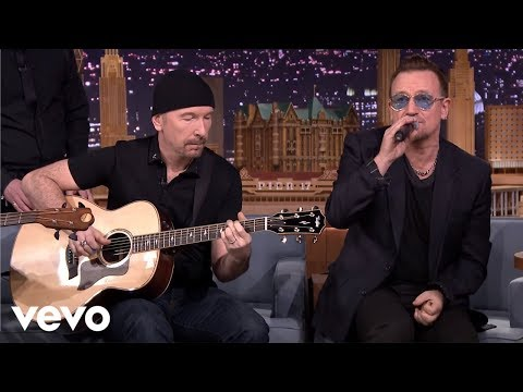 U2 - Ordinary Love (Live on The Tonight Show)