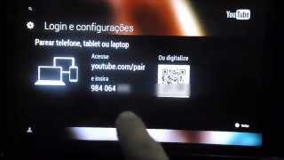 Como Fazer Pareamento Da TV Para Buscar Videos Do Youtube