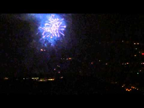 Viewing the 2014 Thousand Oaks and Westlake Village Fireworks at the Same Time