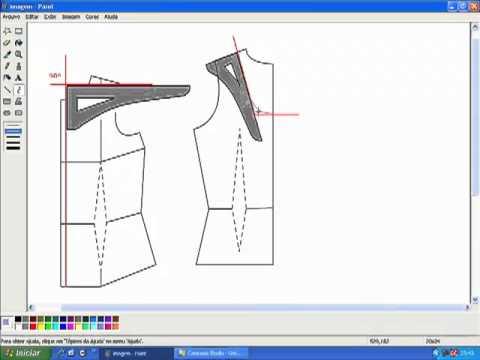 Como usar ESQUADRO na modelagem de roupas