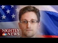 Exclusive: Russia Is Considering Offering Edward Snowden As A 'Gift' To Trump | NBC Nightly News