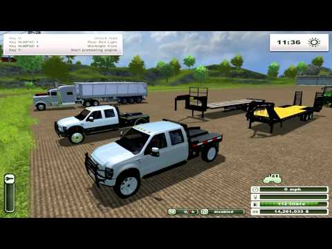 FS2013 | BIG Tractors, Seeders, Trucks, Pickups, Harvester. Mod Spotlight Special