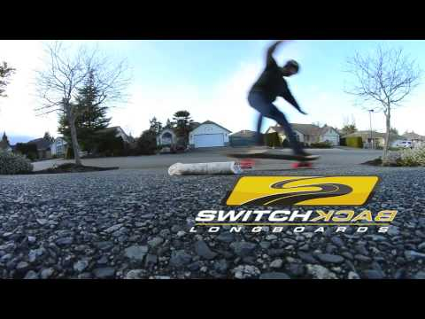 Switchback Longboards Loaded Shop Challenge 2 G Turns