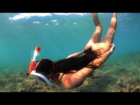 Ocean Reef Aria Full Face Snorkelling Mask
