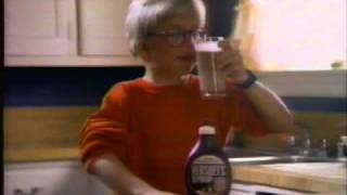 Hershey's Chocolate Syrup Commercial. Featuring Peter