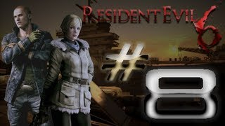 Resident Evil 6 Detonado (Walkthrough) Jake Parte 8 HD