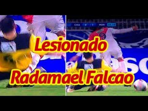 SE FRACTURO LA RODILLA RADAMEL FALCAO NO VA AL MUNDIAL BRASIL 2014