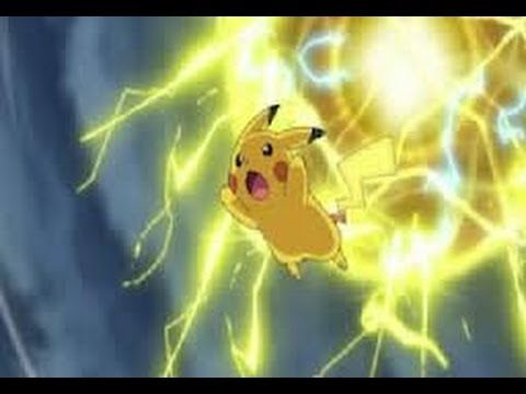 Pikachu's Gigantic Electro Ball - YouTube