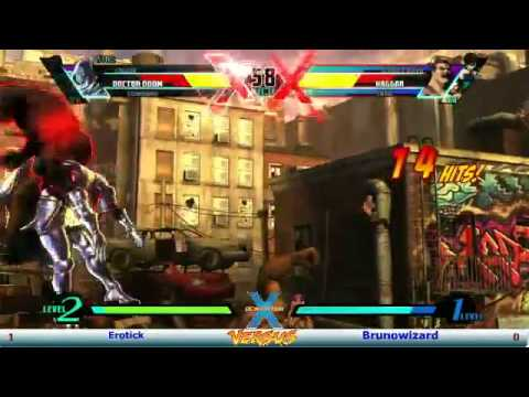Friday Night Farofa 28/07/12 UMVC3 - Winners Finals: BrunoWizard vs EroTikk