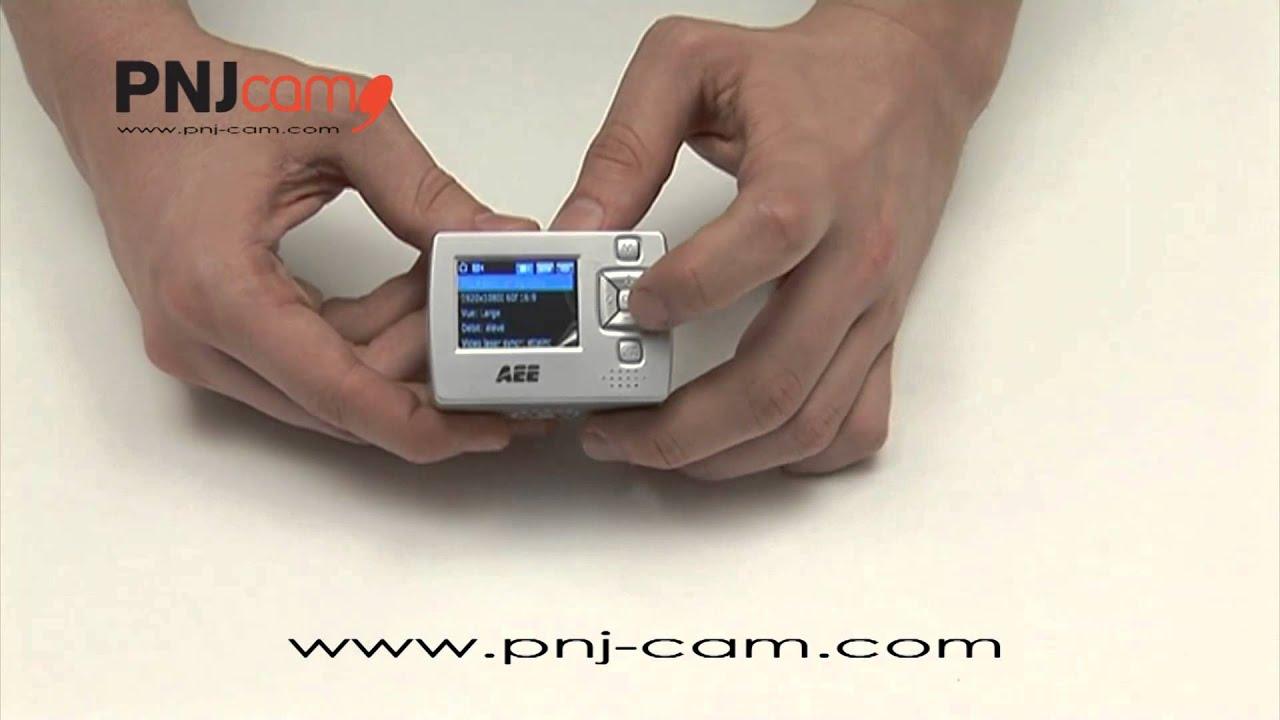Pnj cam aee sd21 comment utiliser la cam ra de sport for Comment utiliser un laser