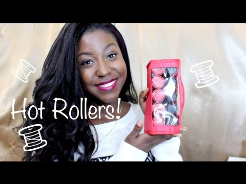 REVIEW: Remington Style Compact Hot Rollers + DEMO [Synthetic Hair Friendly] @itsLakishaa