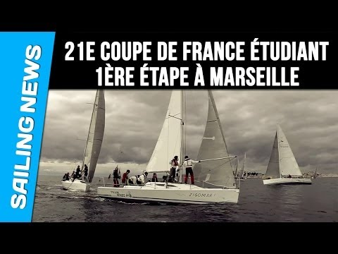 21e Coupe de France Etudiant - 1ère étape à Marseille