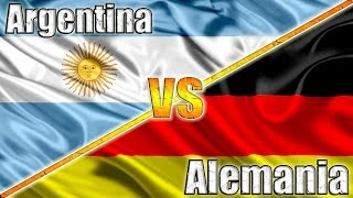 ARGENTINA VS ALEMANIA Final Mundial 2014