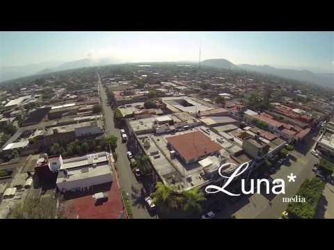 Vista Aerea de Zacoalco de Torres Jalisco
