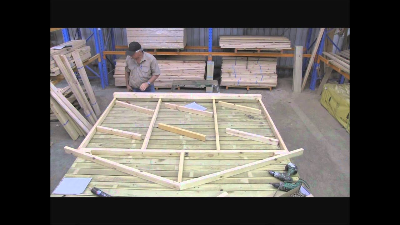 Cubbykraft How To Make A Cubby House Timber Frame Part 3