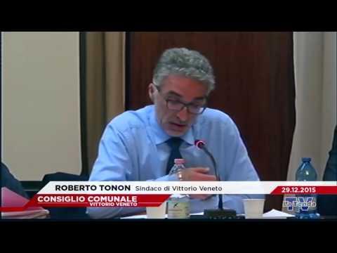 CONSIGLIO COMUNALE VITTORIO VENETO - Seduta del 29.12.2015