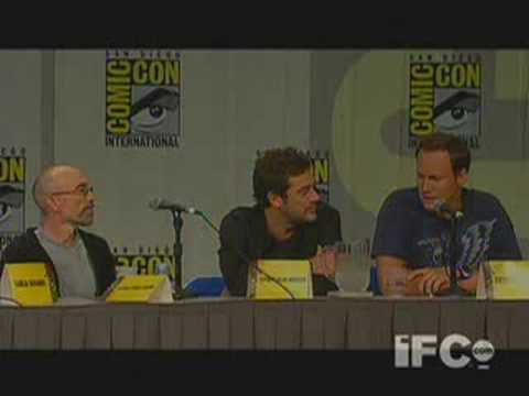 Watchmen Panel, Comic Con 2008