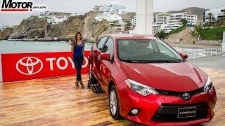 Toyota Corolla 2014 Lanzamiento Perú