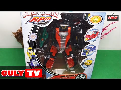 robot siêu nhân cơ động -  Robot Go-Onger power rangers kid toy for childrens