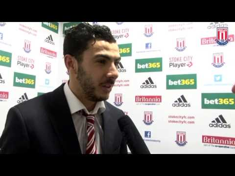 Oussama Assaidi on match-winning strike against Chelsea