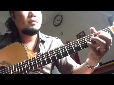 Trót yêu - trung quân cover - solo guitar
