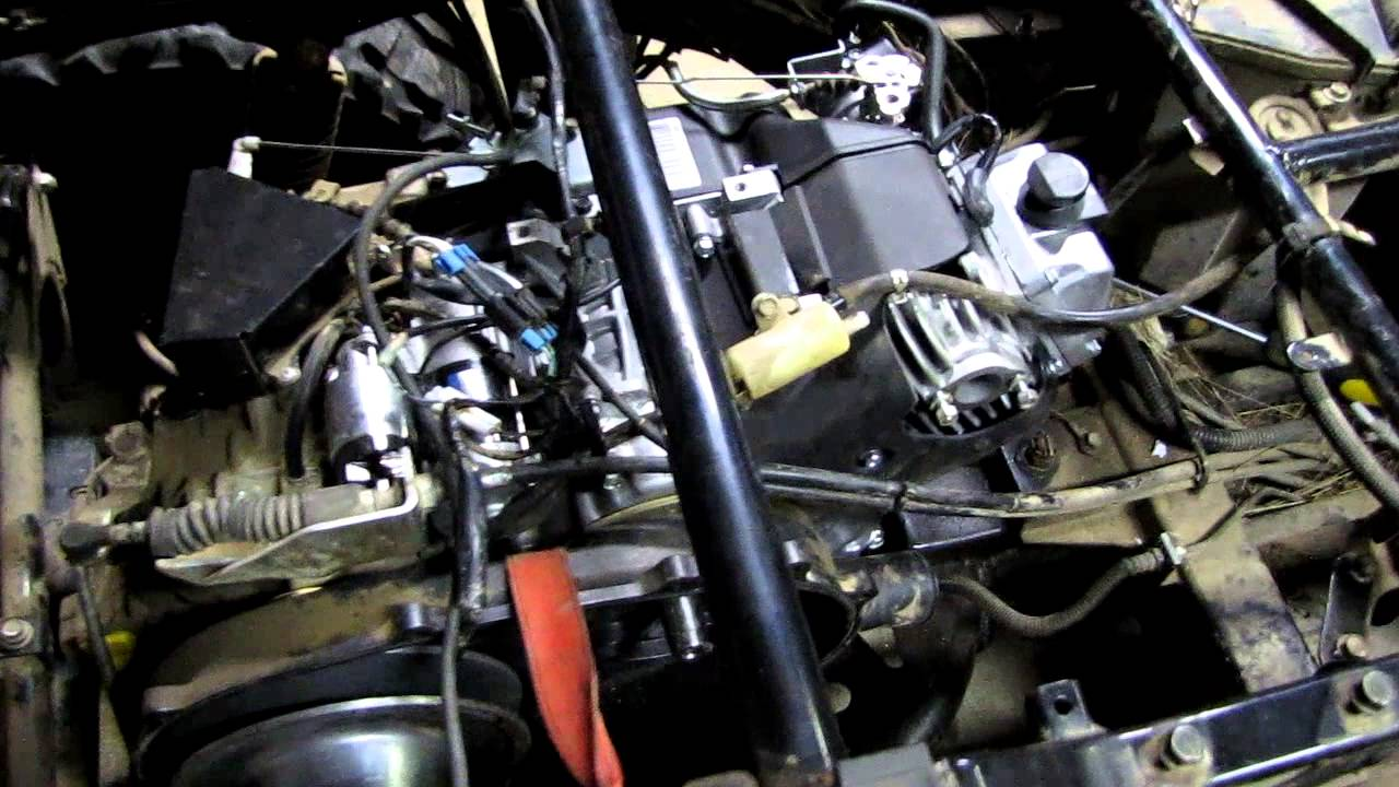 Changing Oil On Kawasaki Mule Pro Fx Video