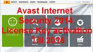 Avast Internet Security 9 2014 License Key Till 2016