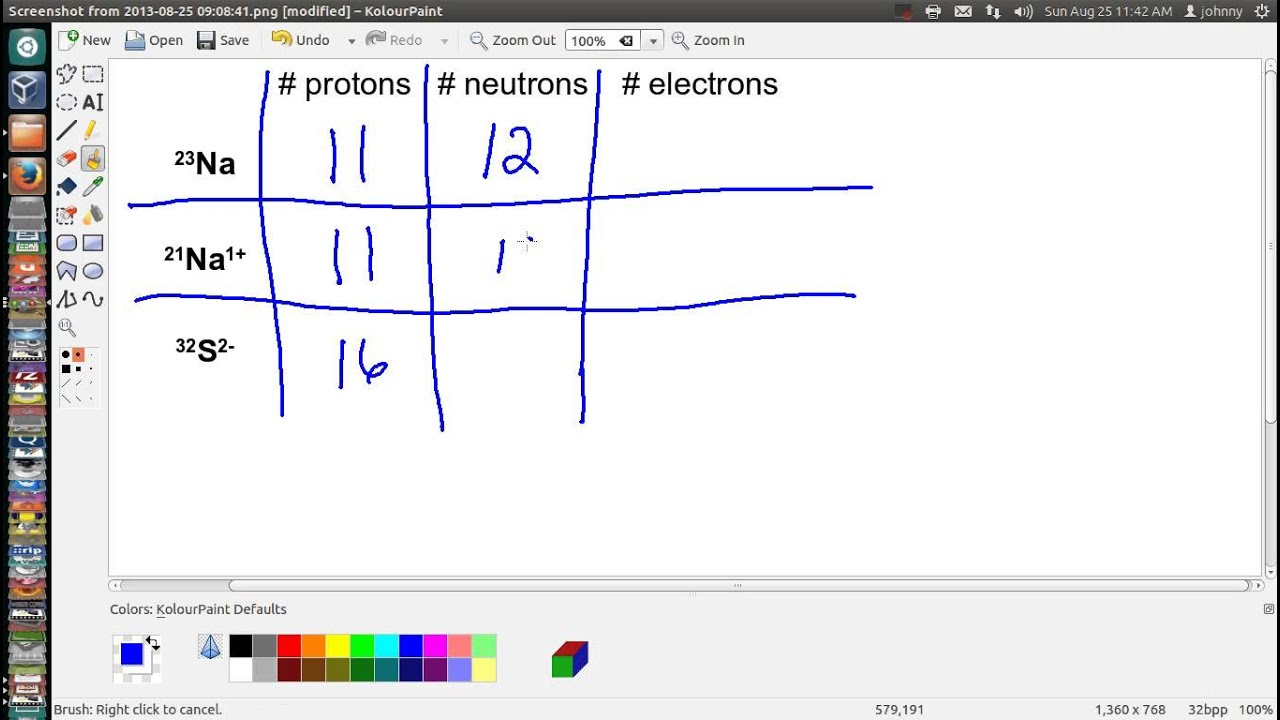 how to find protons neutrons and electrons youtube